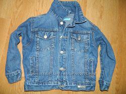 Джинсовая куртка 4-5лет