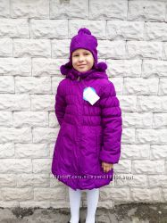 Зимняя удлиненная куртка-пальто для девочек Lassie by Reima 2018-2019
