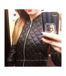 Куртка стеганная женская