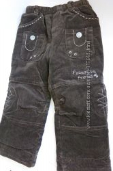 джинсики і вельвети на флісі у відмінному стані