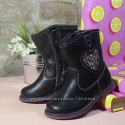 Распродажа демисезонные ботинки для девочки размер 25 стелька 16см