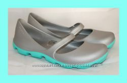 Балетки мокасины Crocs DuetSport. Крокс W6, 7, 8, 9, 10, 11