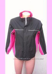 Куртка дождевик 128-134 ветровка Catch, Швеция, розовая на девочку