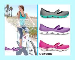 Crocs Sport Duet W 89 25. 5 см туфли-балетки-мокасины Супер обувь