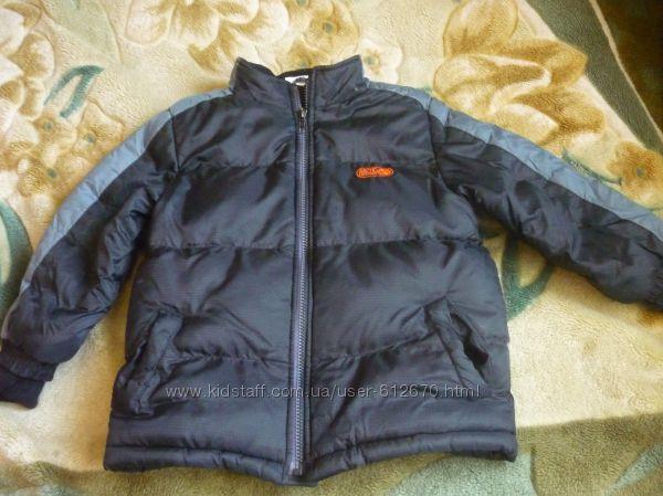 куртка мальчик 4-5 лет