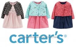 Платье-боди с кардиганом Картерс Carters