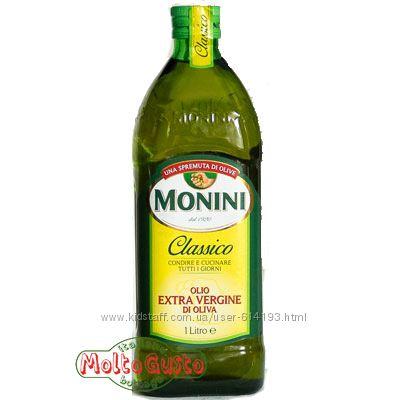Масло оливковое Monini  1л Италия