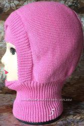 шапка шлем зимняя на синтапоне и подкладкой из хлопка