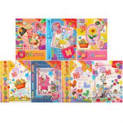 Красочные анкеты и дневнички для девчёнок
