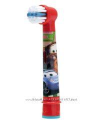 Насадка для детской электрической зубной щетки Oral-b Тачки, Самолетики
