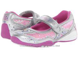 STRIDE RITE США отличные очень удобные мигающие туфельки стелька 21см