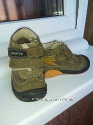 Кожаные демисезонные ботинки Бартек, р. 23