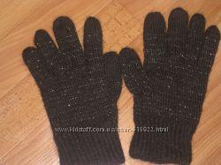 Перчатки вязанные мохеровые теплейшие в идеале