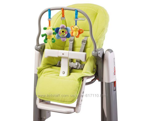 Набор Kit Tatamia чехол и дуга с игрушками для стульчика Peg-Perego