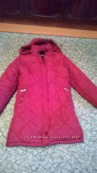 Зимняя куртка-пуховик, полупальто