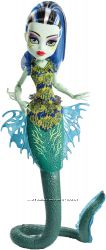 Monster high great scarrier reef Ghoulfish Frankie Stein