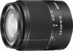китовый фотообъектив SONY DT 18-70mmF3. 5-5. 6
