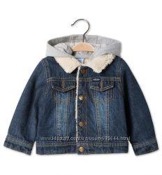Джинсовая курточка на меху. Рост 80 см. C&A