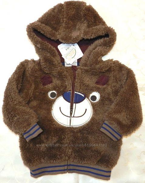 Курточка-кофта Мишка. Topomini. Рост 86 см.