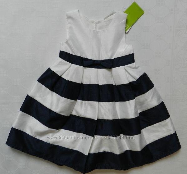 Стильное нарядное платье. Topolino. Рост 92 см.