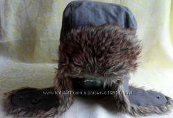 шапка ушанка для мальчика BENETTON и SELA