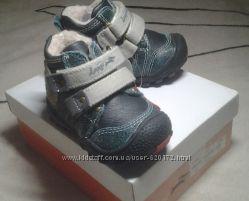 Ботинки для мальчика сине- серый деми  р. 20 Lapsi  новые