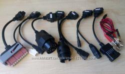 Кабели переходники для Autocom, Delphi DS150E, TCS, WOW SNOOPER - CARs