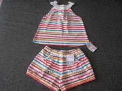 Летний костюмчик для девочки от Mothercare.