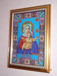 Икона Пресвятая Богородица Леушинская