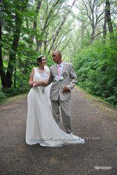 шикарное свадебное выпускное платье в греческом стиле