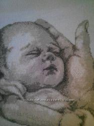 Картина Малыш Вышивка крестиком