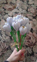 цветок с конфеткой