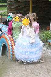 платье бальное нарядное вечернее праздничное длинное выпускное девочке