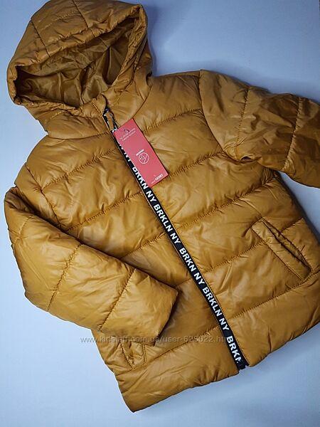 Куртка тёплая флис деми еврозима 116 cool club куртка утеплена фліс демі єв