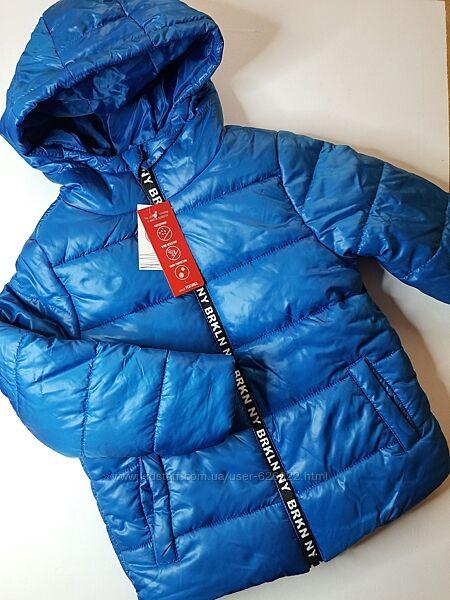 Куртка тёплая флис на мальчика деми еврозима 122 cool club куртка утеплена