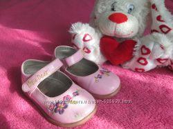 Лаковые- туфельки для девочки 22р, 14, 5см