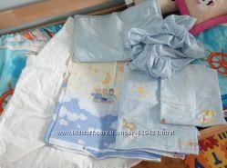 Постельное белье в кроватку мальчикам и девочкам
