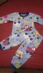 Пижама махровая на 1-2 года
