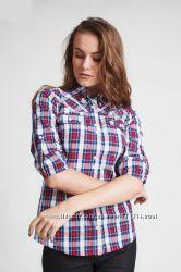 69358fffa979 Рубашка женская в клетку, хлопок. Бесплатная отправка, 325 грн ...