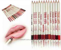 Набор из 12 карандашей для губ