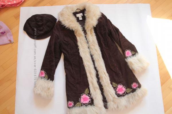 Пальто демисезонное H&Mна р. 140 см, 9-10 лет