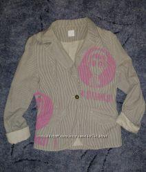 Пиджачок хлопковый стильный, S
