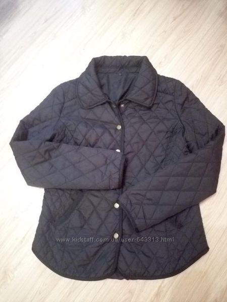 Куртка стёганая, черная