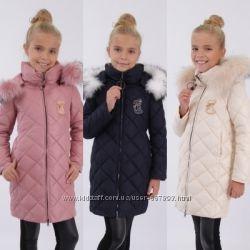 Пальто зима LUSIMING 92см 98см104см110см116см122см 128см 134см 140см