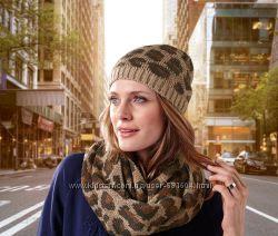 Теплая шапочка леопардовая расцветка TCM Tchibo