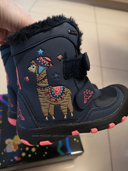 Нежнейшие зимние ботинки Kappa Tex Оригинал