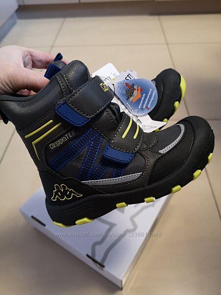 Зимние термо ботинки Kappa Tex Оригинал