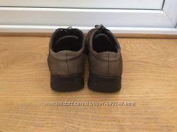 Кожаные туфли ECCO в отличном состоянии