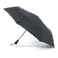 Мужской зонт Fulton Open&Close Jumbo-1 - G323 - Black Черный