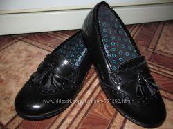 Брендовые кожаные туфли Hush Puppies оригинал р. 4, стелька 23. 8 см.